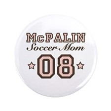 "McPalin Soccer Mom 3.5"" Button (100 pack)"