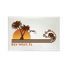 Key West Rectangle Magnet