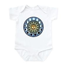 Moon Phases Mandala Infant Bodysuit