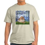 Lilies #6/Pomeranian #4 Light T-Shirt
