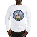 Lilies #6/Pomeranian #4 Long Sleeve T-Shirt