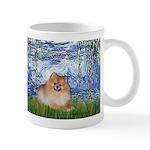 Lilies #6/Pomeranian #4 Mug