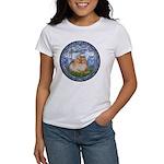 Lilies #6/Pomeranian #4 Women's T-Shirt