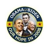 "OBAMA BIDEN 2012 3.5"" Button"
