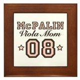 McPalin Viola Mom Framed Tile