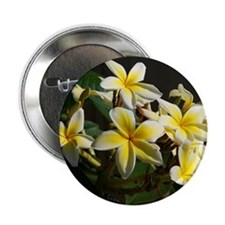 "Aloha Flowers 2.25"" Button (10 pack)"