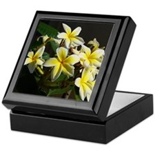 Aloha Flowers Keepsake Box