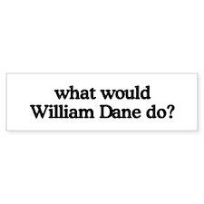 William Dane Bumper Bumper Sticker