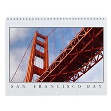 Golden Gate Bridge and San Francisco Bay Calendar