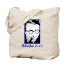 Philosophers are sexy Tote Bag