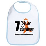 7Year-LeukemiaSurvivor Bib