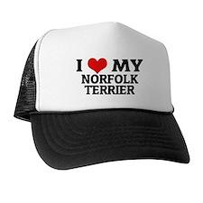 I Love My Norfolk Terrier Trucker Hat
