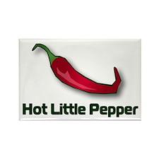 Hot Little Pepper Rectangle Magnet