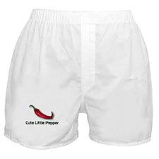 Cute Little Pepper Boxer Shorts