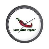 Cute Little Pepper Wall Clock