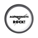 Agronomists ROCK Wall Clock