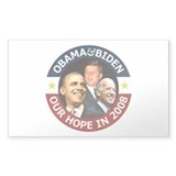 Obama-Biden & John F. Kennedy Rectangle Sticker 5