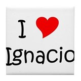 Funny Ignacio Tile Coaster