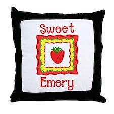 Sweet Emery Throw Pillow