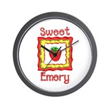Sweet Emery Wall Clock