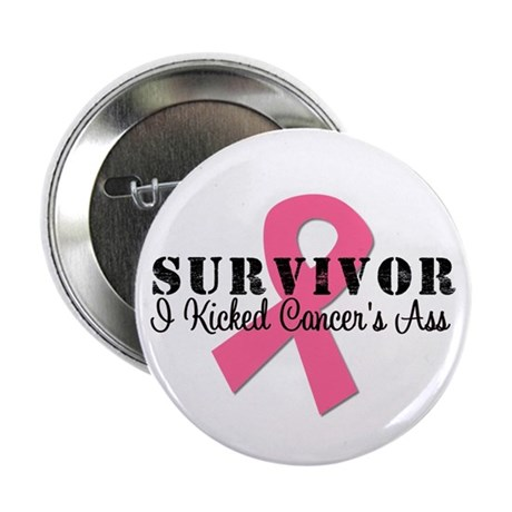 "Breast Cancer Survivor 2.25"" Button"