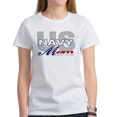 US Navy Mom Women's T-Shirt