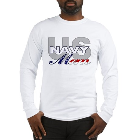 US Navy Mom Long Sleeve T-Shirt