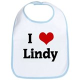 I Love Lindy Bib
