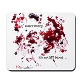Blood Splatter Mousepad