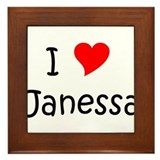 Cool Janessa Framed Tile