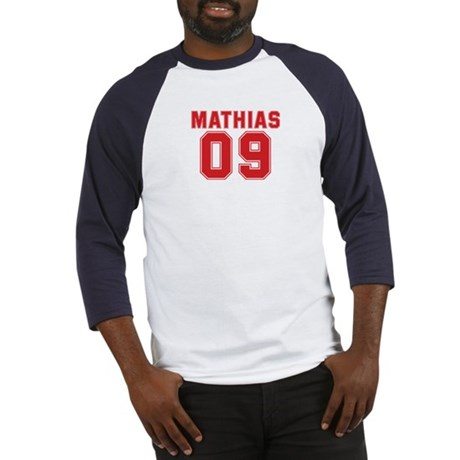 MATHIAS 09 Baseball Jersey