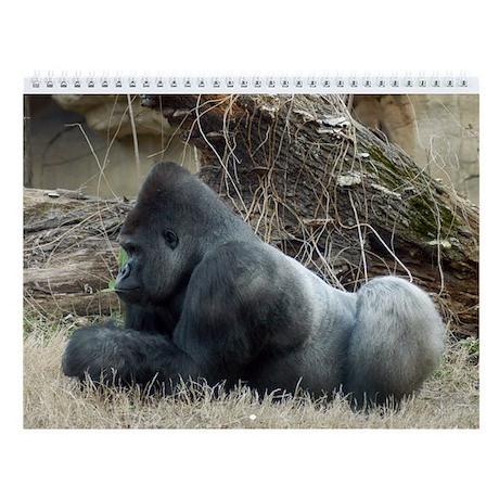 Gorilla 005 Wall Calendar