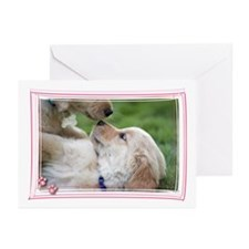 Golden Retriever Puppy Love Greeting Cards (Packag