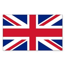 Union Jack Rectangle Decal