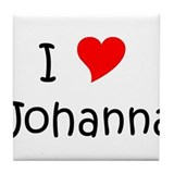 Cool Johanna Tile Coaster