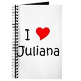 Unique Juliana Journal