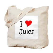 Jules name Tote Bag