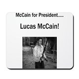 Lucas McCain for President Mousepad