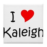 Funny Kaleigh Tile Coaster