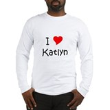 Cute Heart katlyn Long Sleeve T-Shirt