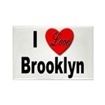 I Love Brooklyn Rectangle Magnet (10 pack)