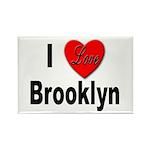 I Love Brooklyn Rectangle Magnet (10 pack)