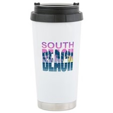 South Beach Ceramic Travel Mug