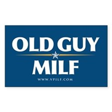 Old Guy/Milf 08 Rectangle Sticker 50 pk)