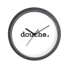 douche. Wall Clock