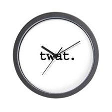 twat. Wall Clock