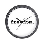 freedom. Wall Clock
