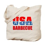 USA Barbecue Tote Bag