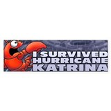 I survived Hurricane Katrina Bumper Bumper Sticker