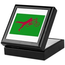 GREEN RED BMX Keepsake Box